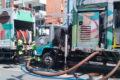Cagece retira mais 430 toneladas de resíduos da rede coletora de Fortaleza/CE