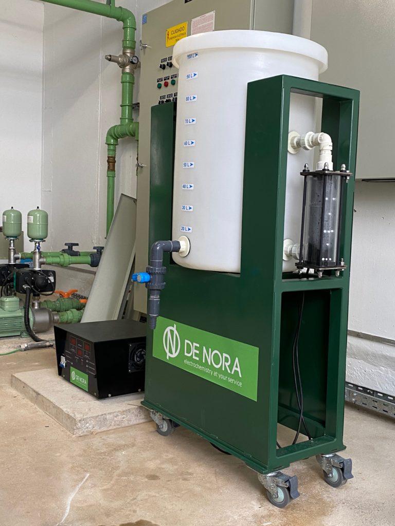 Empresa faz doação de máquina que produz cloro para limpeza de hospital em Sorocaba/SP 2
