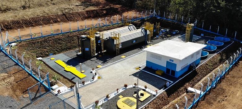 Esap inaugura Estação de Tratamento de Esgoto Jurupeba/SP 1
